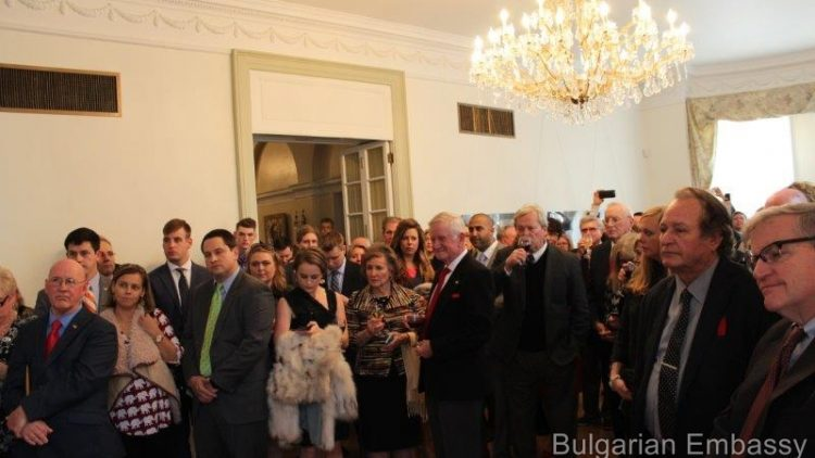 Bulgarian Embassy hosted a reception in honor of the inauguration of the President-elect of the United States, Donald Trump
