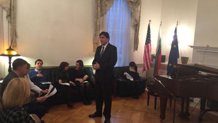 Музикално-поетична вечер в българското посолство във Вашингтон