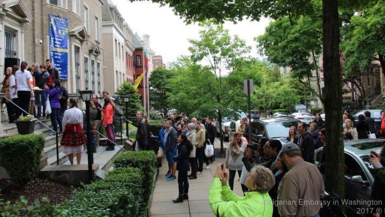 Ден на отворените врати на Европейския съюз в българското посолство във Вашингтон