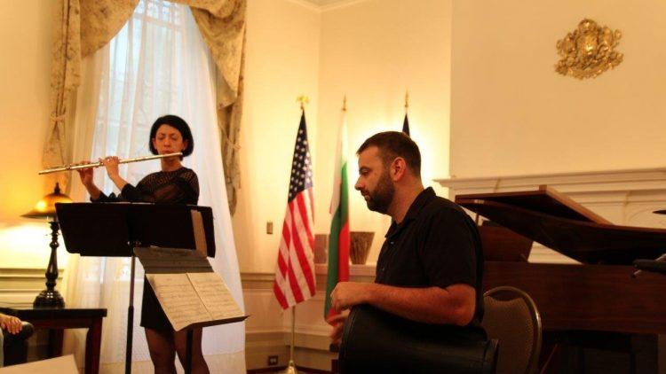Концерт в посолството във Вашингтон
