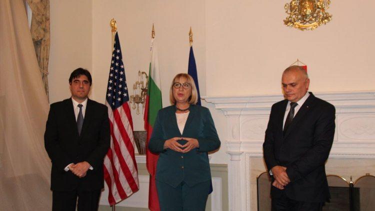 Среща с министъра на правосъдието и министъра на вътрешните работи