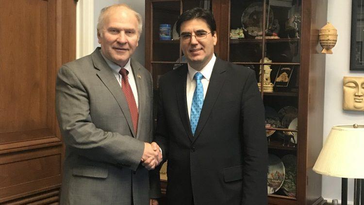 Ambassador Tihomir Stoytchev met with Congressman Steve Chabot