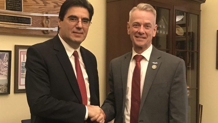 Ambassador Tihomir Stoytchev met Congressman Steve Russell