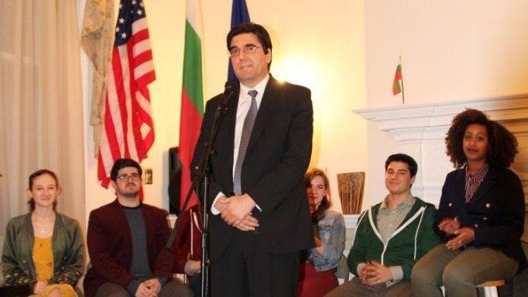 Концерт в посолството, посветен на  Леонард Бернщайн