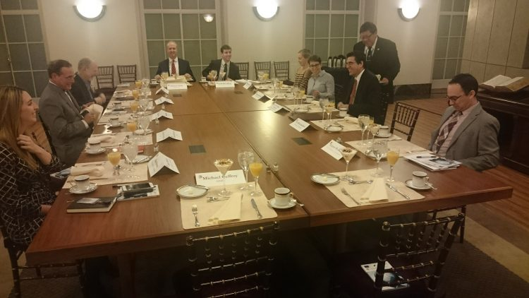 Ambassador Tihomir Stoytchev meets US Chamber of Commerce
