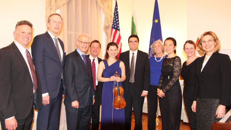 Concert at the Bulgarian Embassy dedicated to the 75th anniversary  of the rescue of Bulgarian Jews